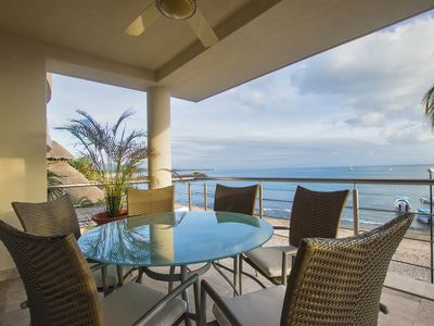 Photo for Perfect surfer getaway and family friendly beachfront condo