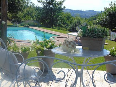 Photo for Magico and Antico farmhouse in the green Gavi area, wine & relax, private pool, nature