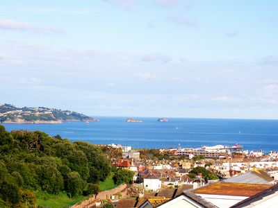 Photo for Detached 4 Bedroom House Overlooks Torbay Amazing Panoramic Sea & Coastal Views