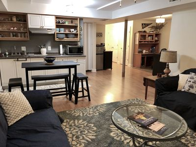A spacious, comfortable, super clean, and homey private space.