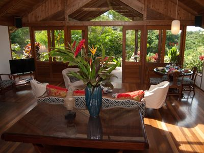 Living room to lanai