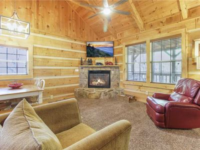 Photo for Life's Escape, 2 Bedrooms, WiFi, Fireplace, Arcade, Jetted Tub, Sleeps 6