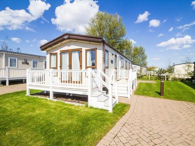 Photo for Luxury caravan for hire at Caister Haven holiday park in Norfolk ref 30011