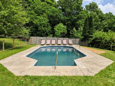 Photo for Plunge right in! TAKING SUMMER BOOKINGS NOW Pool, Hot Tub, Views-close to venues