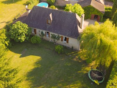 Photo for Beautiful House with Pool & Spring, 15 Mins from Airport, 10 Mins Bergerac Town