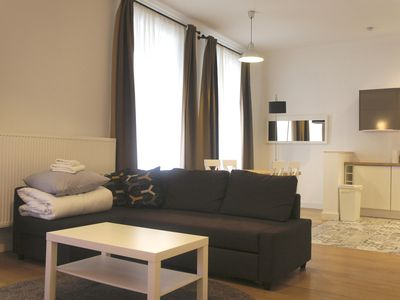Photo for Top Spot Residence 4 apartment in Brussels Centre with WiFi & lift.