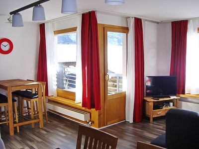 Photo for Apartment 370 m from the center of Disentis with Lift, Parking, Internet, Washing machine (52893)