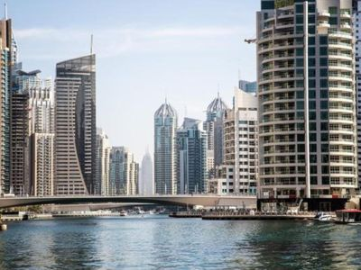 Photo for Pacifying Water-front View 1BR Apartment in Orra Tower Dubai Marina