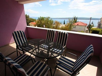 Photo for Holiday apartment Dramalj for 2 - 4 persons with 1 bedroom - Holiday apartment