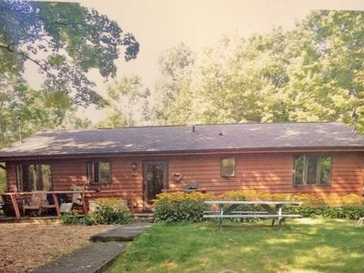 Photo for Cozy Cottage in the Woods: Fish Creek - Perfect location!