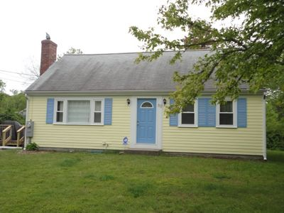 Photo for LEWIS BAY AREA ~ DOG Friendly! WEST YARMOUTH ! BRIGHT CHEERY THREE BEDROOM CAPE W/CENTRAL AIR !