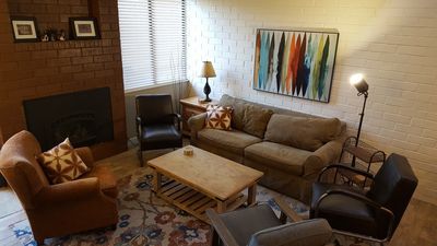 Photo for Park Ave Condos; A+ Location, Rates; New Kitchen; 5 Min walk to Pool & Spas