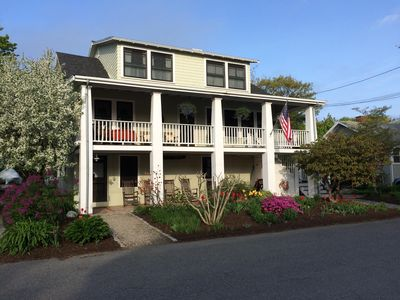 Photo for Family Friendly Apartment, Short Walk to Beach/Downtown, Parking, WiFi, Grill