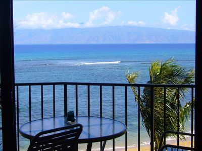 Photo for BEAUTFL WEST MAUI DIRECT OCEAN  2 BD SUITE 1 0R 2 FREE NGHTS MAY, SEPT,OCT 2019