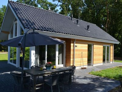 Photo for Beautiful chalet with gas fire and gorgeous view of the natural surroundings
