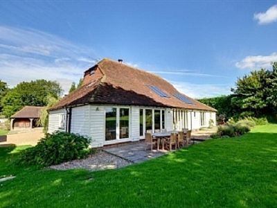 Photo for Period Barn Conversion With Garden, Sweeping Views And Outdoor Heated Pool.