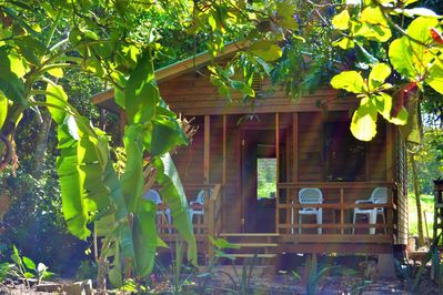 Iguana Roost,  2 bedroomed self catering cottage with private kitchen & bathroom
