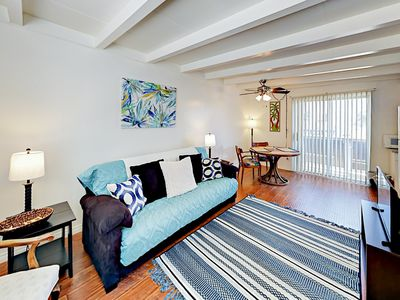 Living Room - Welcome to Ventura! This charming 1BR is professionally managed by TurnKey Vacation Rentals.