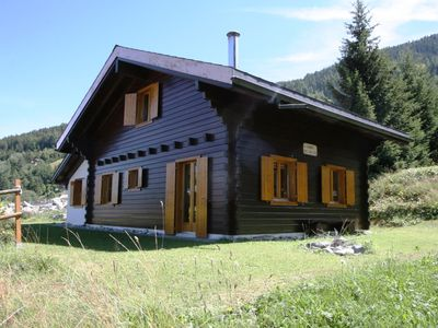 Photo for Nice and comfortable chalet, located on the high of the resort