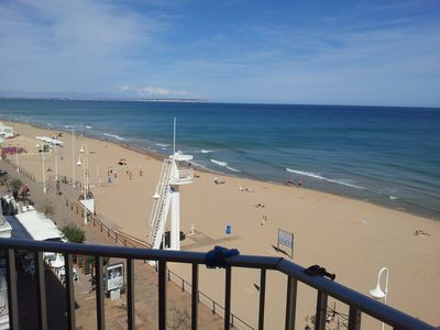 Photo for Sea View - Beachfront - Wifi - Air Condition
