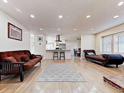 Photo for New Listing! Chic Retreat & Private Yards- Near Disneyland, Convention Center
