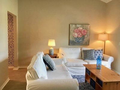 Photo for Charming Updated Extended Stay Condo 2 Blocks to Beach w Common Pool/Tennis