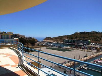 Photo for Excellent t2 Penthouse in Albufeira Marina