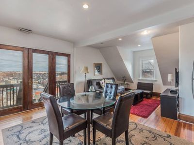 Photo for Top Floor Home with striking view of Boston and the Harbor!