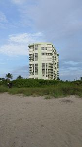Photo for Beach front property. High season available