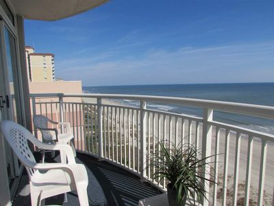 Photo for Spectacular Direct Oceanfront 2B/2B Condo- Large Balcony, WINTER RENTAL