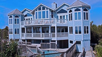 Photo for $1000 OFF-OCEANFRONT:7 Bed;8 Bath;2 Heated Pools;4 Whirlpools;Spa w/audio;Walkwa