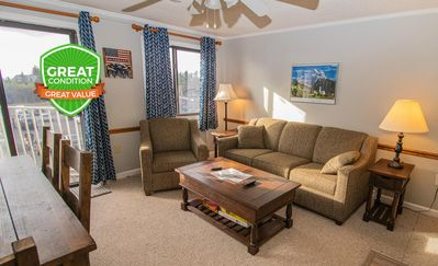 Photo for NO BAIT & SWITCH PRICING Includes Parking/Cleaning/Wi-Fi 2BR/2BA Sleep 7 ML325