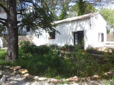Photo for Provencal farmhouse between the Mediterranean and the Cevennes.