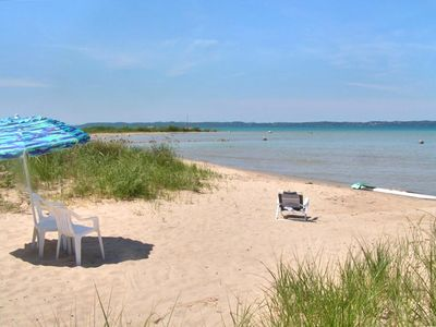 Photo for Beautiful Beach House on East Grand Traverse Bay!