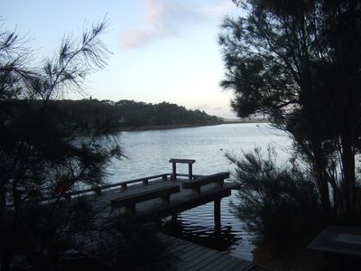 Photo for Family friendly beach holiday home    Lake Tabourie