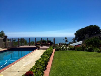 Photo for Stunning home with large pool/jacuzzi, and beautiful ocean views!!