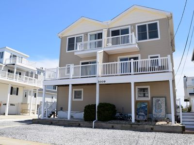Photo for 2 1/2 bath Beach block townhome only 200 feet to the beach!