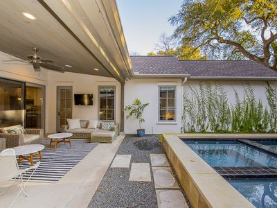 Photo for SXSW Luxury Large Home - Pool, Downtown, Walkable to Restaurants