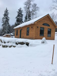 Photo for 1 Cabin rentals near Stowe, Smuggler's Notch, breweries and hiking trails.