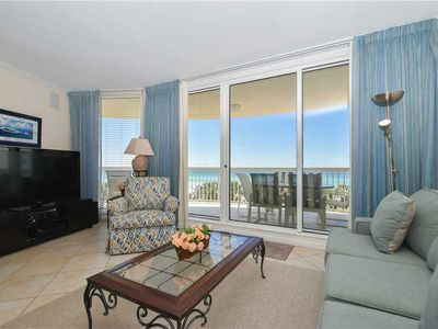 Photo for Cozy beachfront condo w/private balcony & elevator!