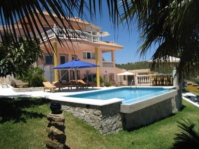 Photo for Villa with pool, family friendly, beautiful view