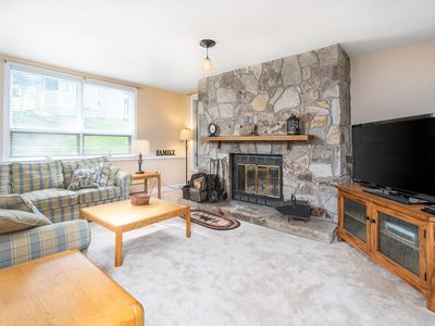 Photo for Slopeside Mountain Retreat! Ski Off, with Fireplace