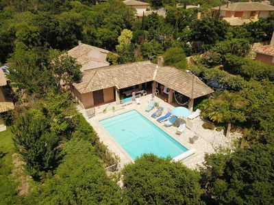 Photo for VILLA IN CALM CLIM. WIFI, TT COMFORT, PISC. PRIVATE HOT, BEACH AND PORT TO 400M.