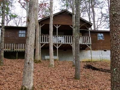 Photo for Great Location-Fishing Lake-2 King Master Suite-Hot Tub-WiFi-Pets OK