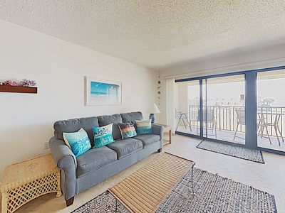 Photo for Lovely Two Bedroom, Bay Front Condo ~Steps to the Bay ~ Close to the Beach!
