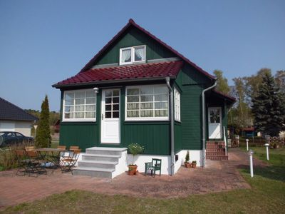 Photo for Green cottage in the middle of the natural park Szczecin Lagoon