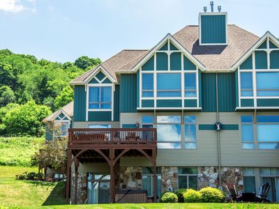 Amazing View: Adorable townhome with lake & ski slope views!