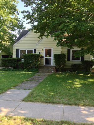 Photo for Cozy Three Bedroom Home with great yard in Historic Three Oaks, Michigan.