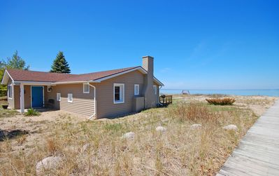 Photo for Ships Haven-Charming Beachfront Cottage in Glen Arbor!