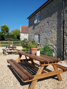 Photo for Hedgerow Cottage - Stone cottage in idyllic location